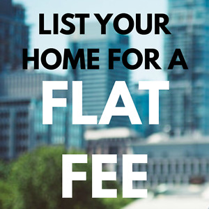 Sell your house for a Low Flat Fee and save THOUSANDS