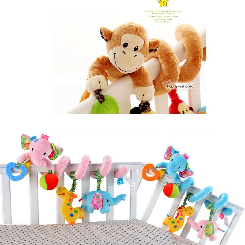 Cute Activity Spiral Crib Stroller Bed Car Seat Travel Hangi
