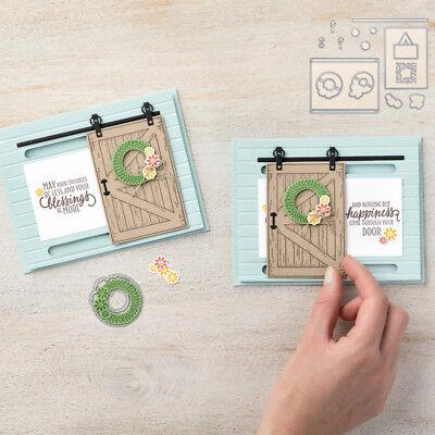 Summer Doors Metal Cutting Die Scrapbook Paper Crafts Photo Decor Gift  Card DIY