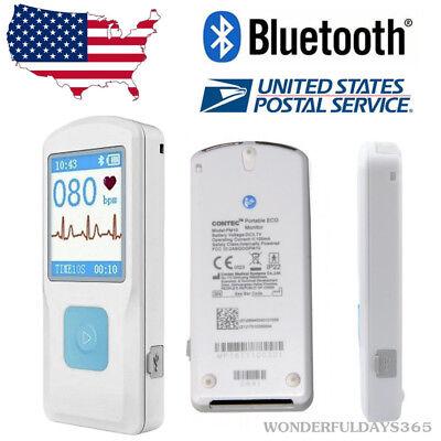 Pm10 Portable Ecg Monitor Bluetooth Obesity Chest Pain Palpitationsheart Test