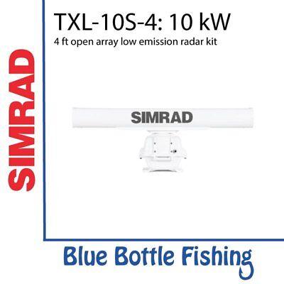 SIMRAD TXL-10S-4 10 kW 4 ft open array low emission radar kit Simrad Open Array