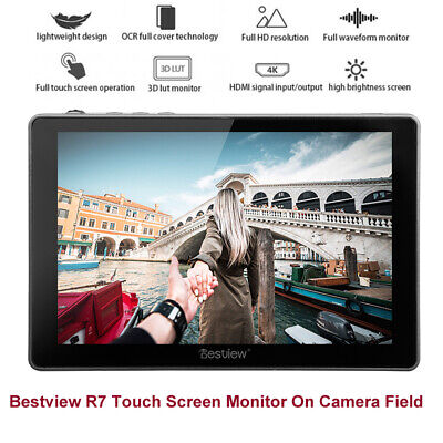 "Bestview R7 HD 7"" 4K HDMI Touch Photography Field Monitor for DSLR Nikon Camera"