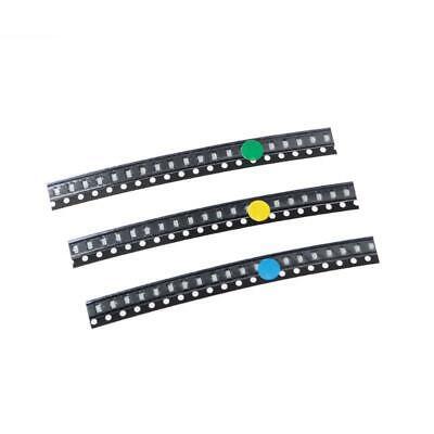 100pcs 5colors Smd 0805 Led Light Red Green Blue Yellow White Assotment Kit