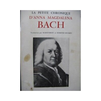 The Small Chronicle Anna Magdalena Bach 1957 partition sheet music score