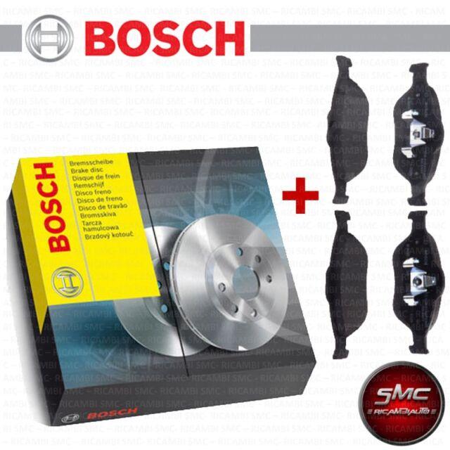 BREMSSCHEIBEN + BELÄGE BOSCH Vorderachse GOLF 4 IV 2.8 V6 4motion 150 KW NEU