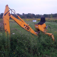3 pt hitch backhoe attachment