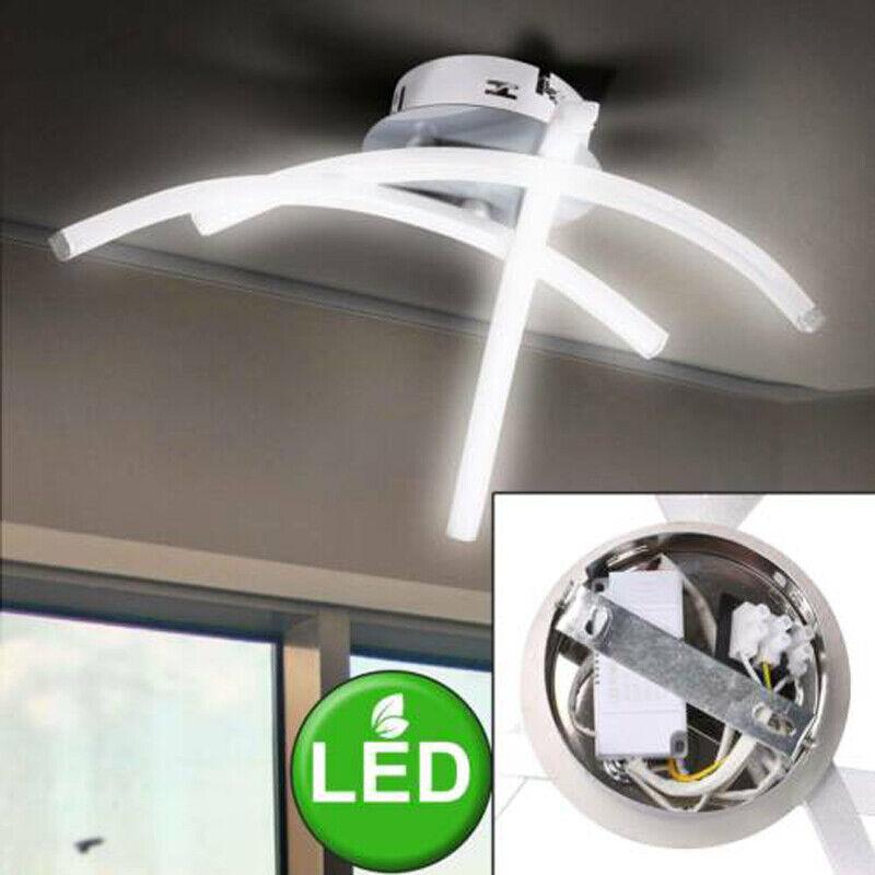 LED Decken Lampen Design Wohn Schlaf Zimmer Beleuchtung Flur Dielen Leuchten 21W