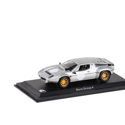 Leo Models 1:43 Maserati Bora Group 4 Silver Diecast Model Car