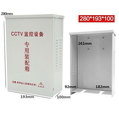 Metal Waterproof Junction Box Project Wiring Distribution Box For Cctv Equipment