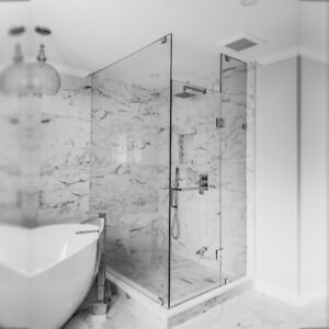 FRAMLESS GLASS SHOWER DOORS AND MIRRORS | MS