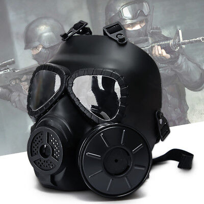 Back To Search Resultshome & Garden Sincere Cs Military Gas Mask With Transparent Glasses Skull Perspiration Protection With Fan Field Hunting Airsoft