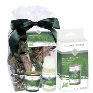 Fresh Royal Fir Potpourri & Home Fragrance Oil Bundle