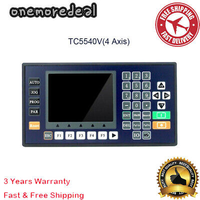 4 Axis Cnc Motion Controller 3.5 Color Lcd For Router Servo Stepper Motor New
