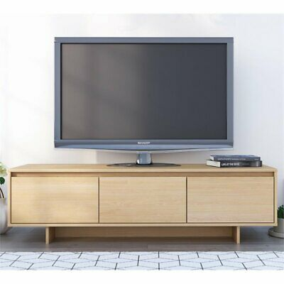 Nexera 107205 Rustik TV Stand  60-inch Natural Maple ()