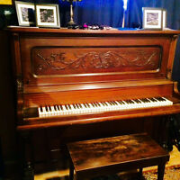 Piano droit antique Barthelmes and co.