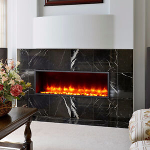 """44"""" Built-in LED Wall Mount Electric Fireplace (Free Shipping)"""