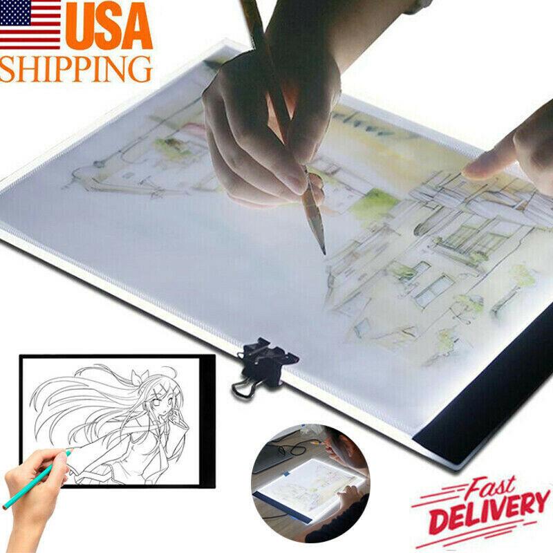 LED Tracing Light Box Board Art Tattoo A5 Drawing Copy Pad T