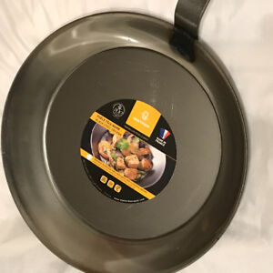 "Matfer Black Steel Fry pan  12""-French Made High end fry pan"