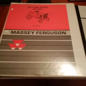Massey Ferguson MF8 Lawn Tractor Manuals.