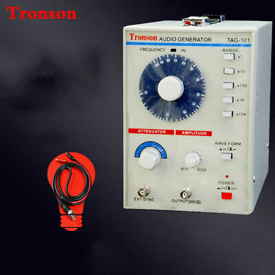 New 220v Tag-101 Low Frequency Audio Signal Generator Signal Source 10hz-1mhz