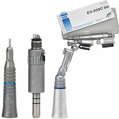 Nsk Dental Low Speed Handpiece Kit Full Set For M4 Midwest 4 Holes Only