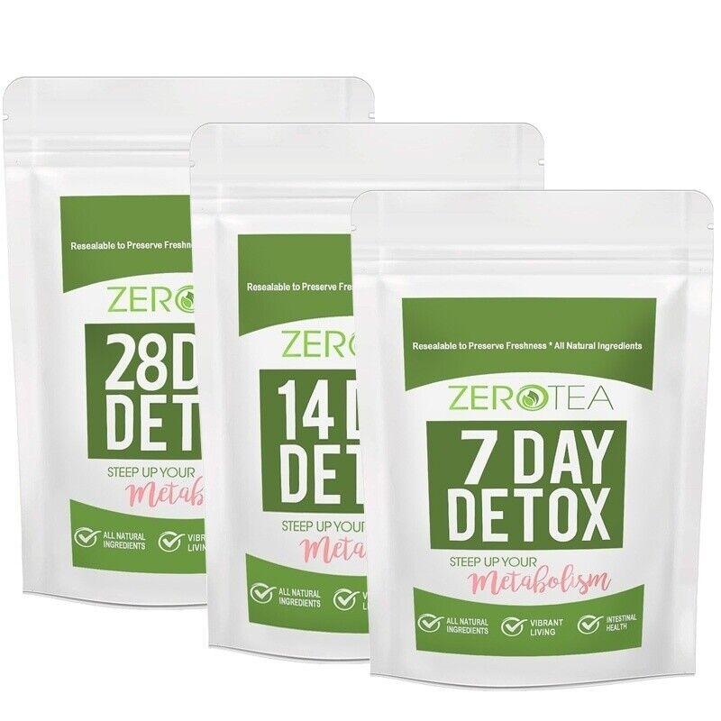 Natural Detox Tea Teatox Herbal Tea for 7/14/28Days to Weigh