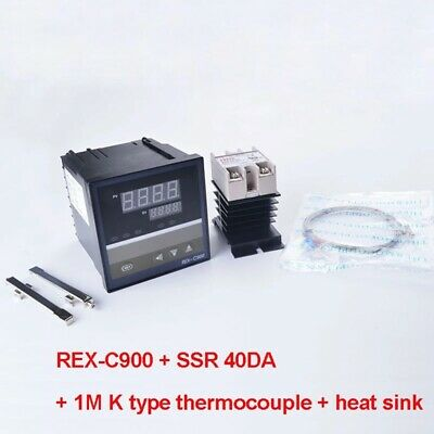 Digital Pid Temperature Controller Rex-c900 40da Ssr Relay K Thermocouple Rkc