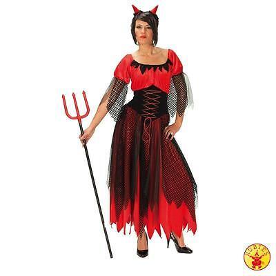 Damen Teufel Halloween-kostüm (RUB Damen Karneval Halloween Kostüm Teufelin Teufel Teufelchen Diabo Gr. 36 - 48)