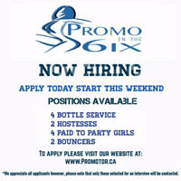 PROMOTOR.ca !! Hiring as we build our roster!! Lots of events !!