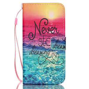 Samsung  Galaxy  S6  Leather  Flip  Cases