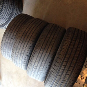 4 tires size 225/55/R19