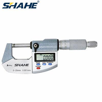 0-25mm 0.001mm Ip65 Waterproof Electronic Outside Micrometer Measuring Tool