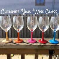 Personalized Wine Glasses & Coffee Mugs and More!!