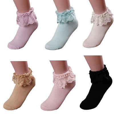 WHOLESALE 2015 Girl Socks Women Lace Socks Cotton Sock Ankle Socks Fancy Ruffle