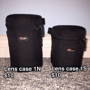 Lowepro Lens cases, Accessory Pouch, Tamrac Filter Belt Pack