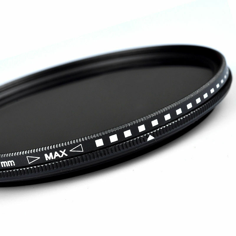 ZOMEI 77mm Variable Fader ND Filter ND2 ND4 ND8 ND400 for Nikon Canon Hoya Lens