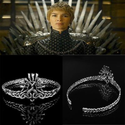 Game of Thrones Cersei Lannister Diadem Hairband Cosplay Jewelry Tiara Crown Fan