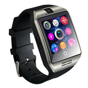 New Grade Bluetooth samrt watch with Curved Screen and camera