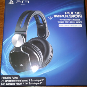 PlayStation 'Elite Edition' Wireless Headset