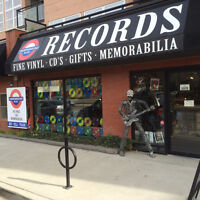 We buy records for top cash prices