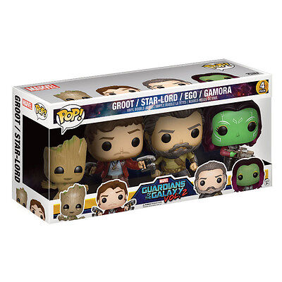 POP! Guardians of the Galaxy 2 - 4er Pack Set Groot & Starlord Funko Marvel NEU