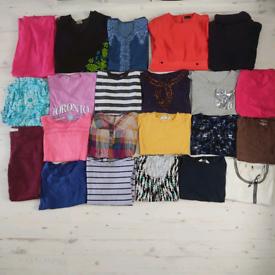 Ladies size 12-14 clothes bundle 22 items