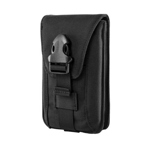 new products 49a98 8856f Details about OneTigris Tactical Double Molle Cell Phone Pouch Case for  iPhone Samsung Huawei