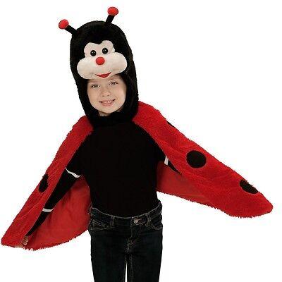 MARIENKÄFER PLÜSCH CAPE Kinder Kostüm für 2 - - Marienkäfer Cape Kostüme