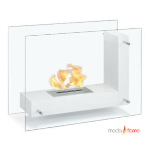 Moda Flame Exquisite Indoor Outdoor Fireplace. NEW. $400 Retail