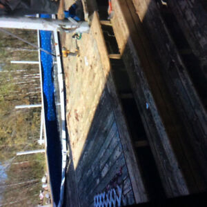 Swimming pool and deck for sale