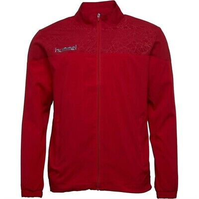 Hummel Mens Sirius Woven Track Jacket True Red/Chili Pepper- SIZES S