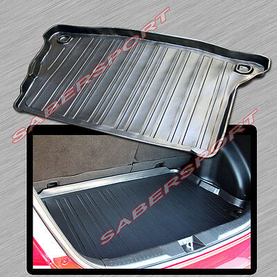 2008 Cargo Area Tray - 2007-2008 HONDA FIT ALL WEATHER TRUNK CARGO AREA TRAY LINER MAT BLACK