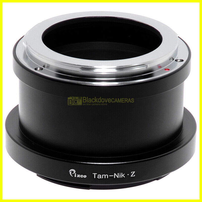 Adapter per obiettivi Tamron Adaptal su fotocamera Nikon Z mirrorless Adattatore