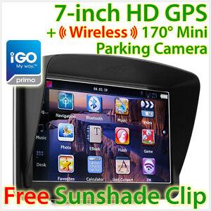 New-7-GPS-Car-Navigation-Wireless-Reverse-Camera-Sat-Nav-HD-Portable-iGO-Primo